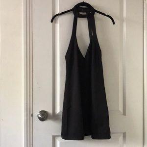 Tobi Black Choker Dress